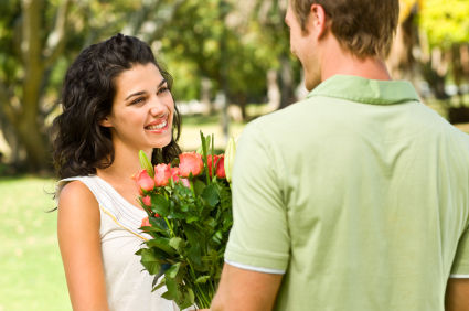 Boy Propose A Girl With Smile